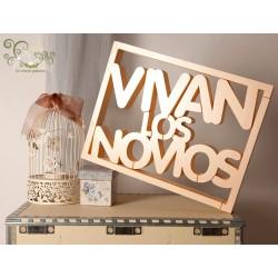 CARTEL VIVAN LOS NOVIOS 3