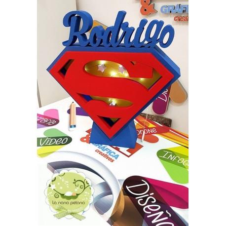 CAJA DE LUCES SUPERMAN